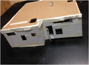Solar house model project